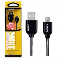 Micro USB кабель REMAX Super Cable Fast Charge, цвет черный (Black)